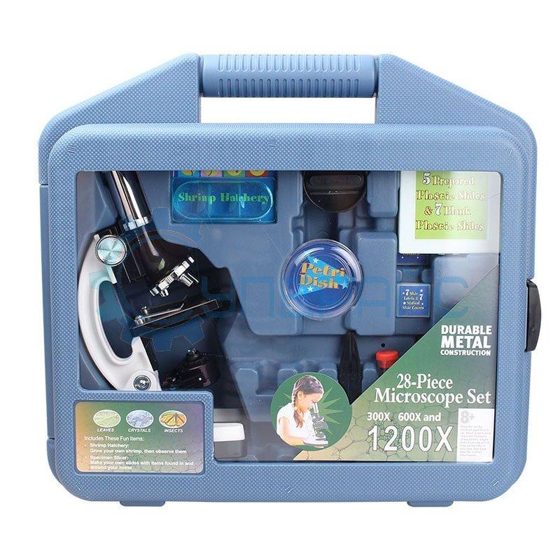 Детский микроскоп в кейсе 300x-1200x