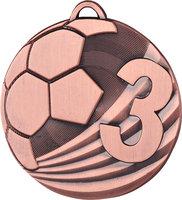 Россимвол Медаль Футбол MD2450/B (50) G-2мм