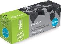 Картридж Cactus CB540A (CS-CB540A) для принтеров HP Color LaserJet CP1215/ 1515/ CM1312 черный 2200 страниц