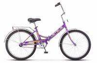 Велосипеды Складные Stels Pilot 710 24 Z010 (2018) Фиолетовый