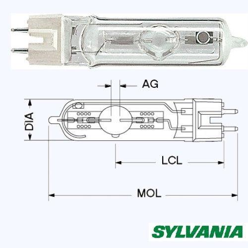 Лампа Sylvania 400Вт