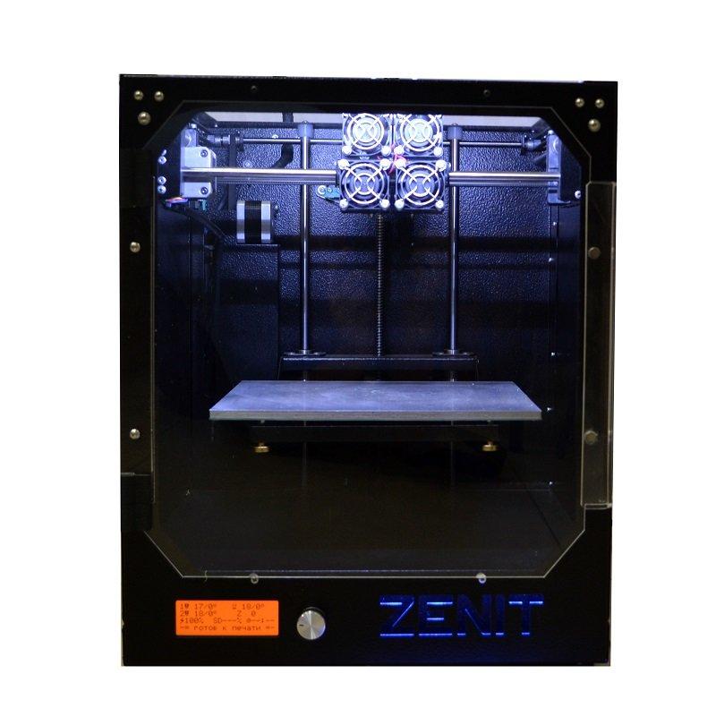 3D принтер Zenit 3D (2 экструдер)
