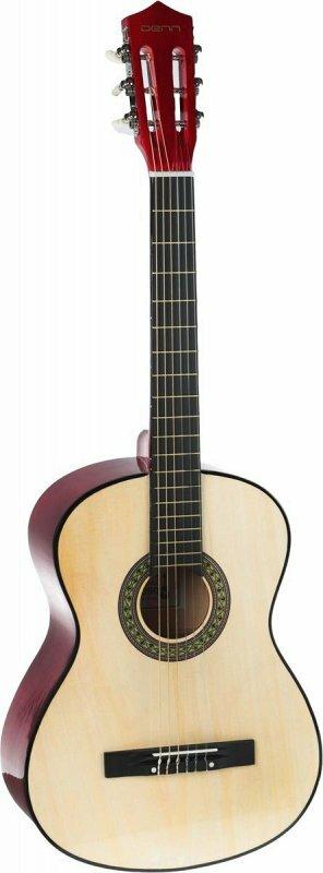 Denn DCG390 классическая гитара, цвет натуральный