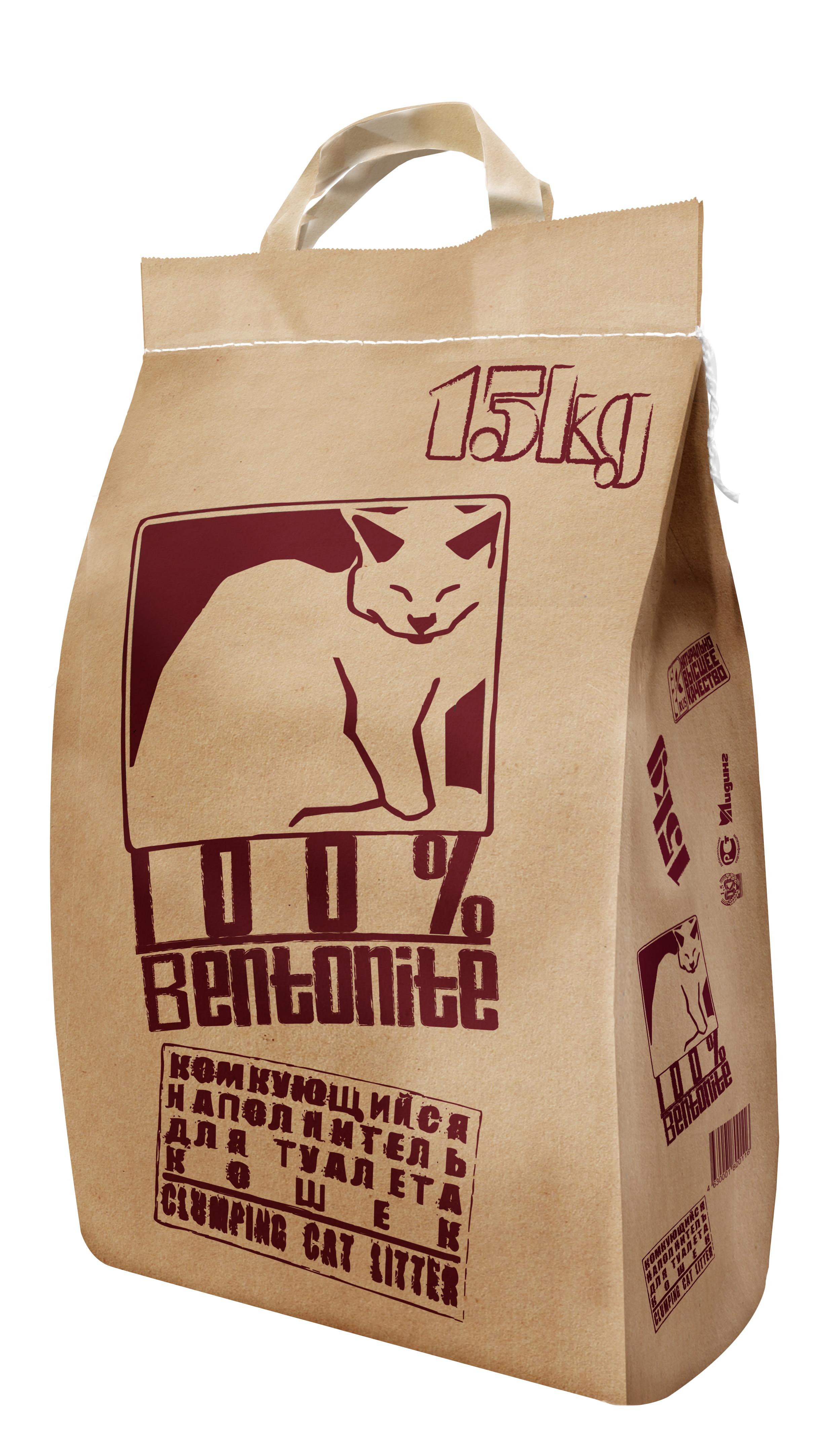 Наполнитель NoName Наполнитель для кошек, комкующийся, 15 кг