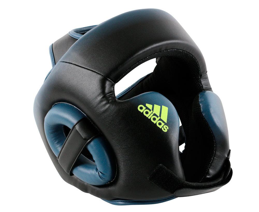 Шлем боксерский Speed Head Guard черно-синий (размер M)