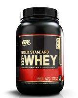 100% Whey Gold standard 912 гр - 2lb (Optimum nutrition) черничный чизкейк