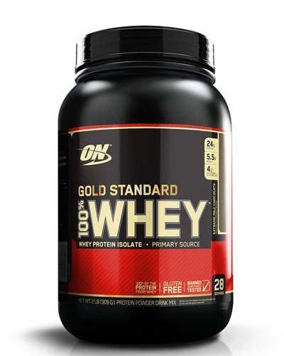 100% Whey Gold standard 817 гр - 2lb (Optimum nutrition) пирог с лаймом