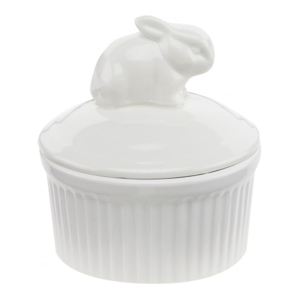 Горшочек для запекания с крышкой Walmer Rabbit, 0,12л, 9см, W10320009
