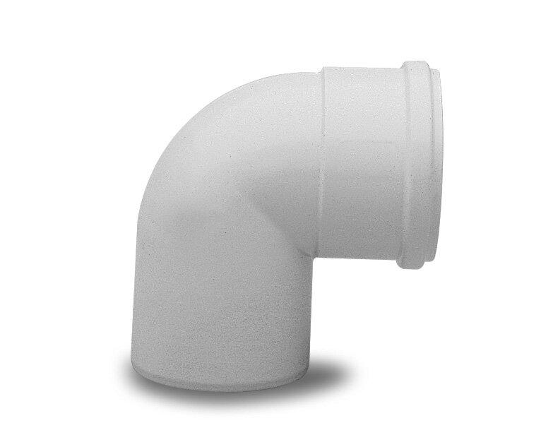 Отвод Baxi полипропиленовый 87 , диам. 80 мм, HT(арт. KHG71405921)