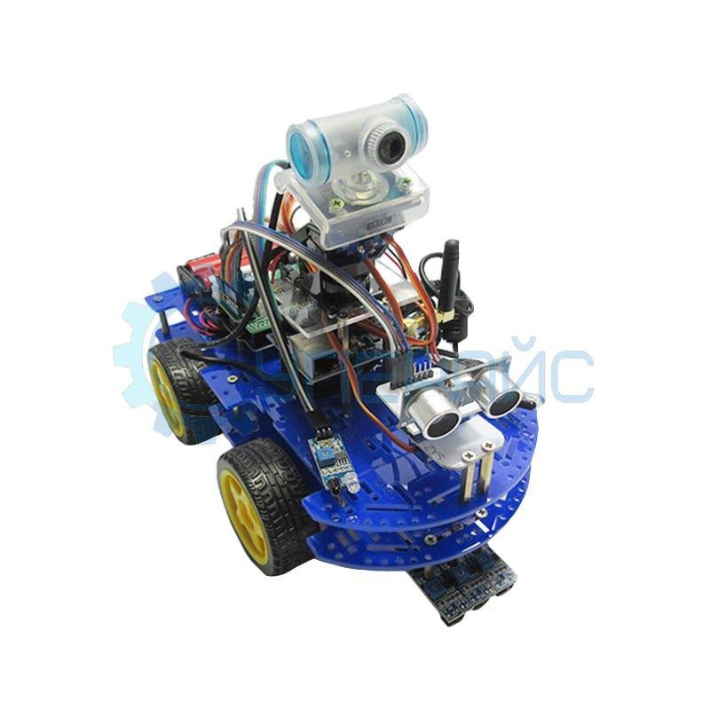 Конструктор-робот Arduino Robot Car с видео-камерой и Wi-Fi