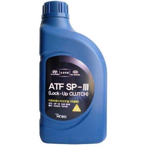 Трансмиссионное масло Hyundai-KIA ATF SP3 1л (04500-00100)
