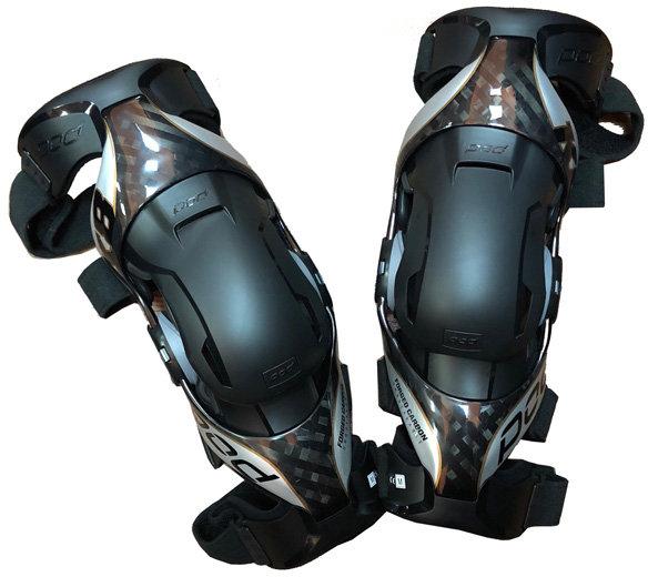 Pod MX K8 2.0 Knee Brace наколенники, черно-серебристый / L