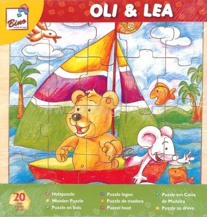 Пазл Bino Oli & Lea