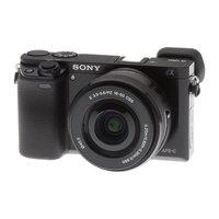 Цифровая фотокамера Sony Alpha A6000 Kit 16-50mm f/3.5-5.6 E OSS PZ чёрная