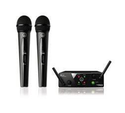 AKG WMS40 Mini2 Vocal Set BD US45A/C (660.700&662.300) - вокальная радиосистема с 2-мя ручными передатчиками, капсюль D88
