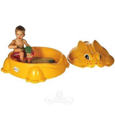 Paradiso Песочница детская Кролик с крышкой, 92*84*46 см T00716