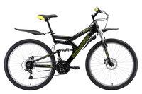 """Велосипед Challenger Genesis Lux FS 26 D (2019) чёрный/зелёный/серый 20"""""""