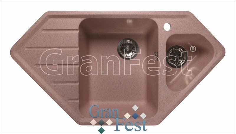 Кухонная мойка GranFest Corner GF-C950E (Серый)