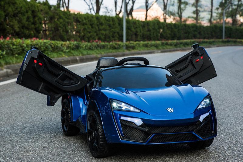 ToyLand Электромобиль Lykan QLS 5188 4Х4 синего цвета