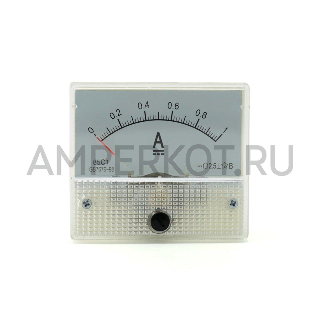 Аналоговый амперметр 85C1, 1A