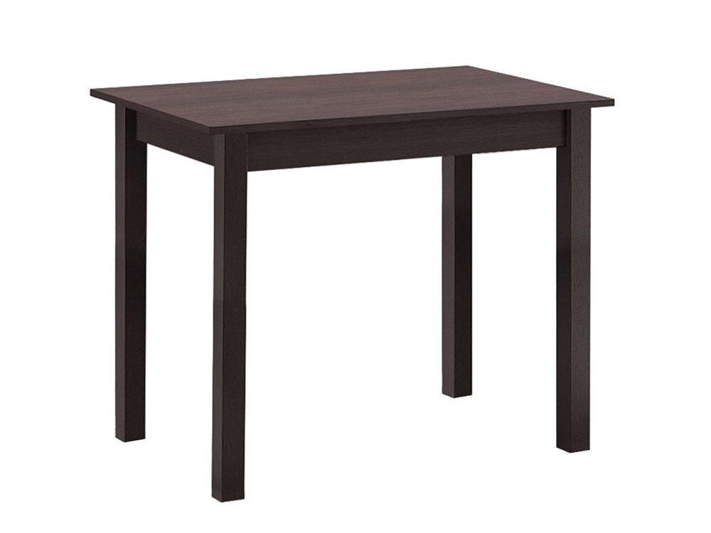 Кухонный стол Боровичи Стол обеденный прямая ножка Венге