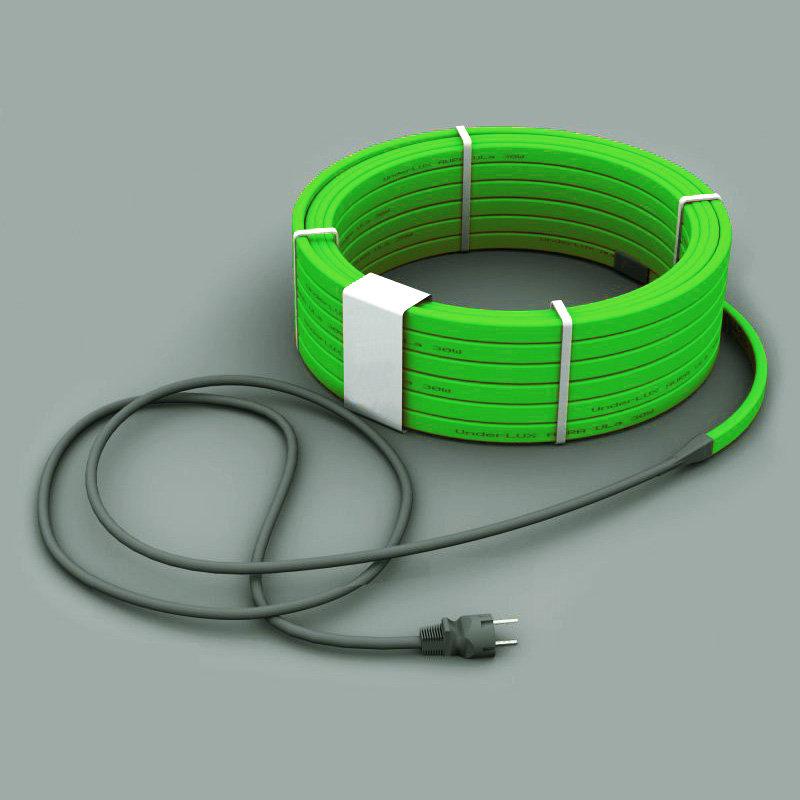 Греющий кабель для желобов и водостоков SRL 30-2 30 Вт (18м) комплект