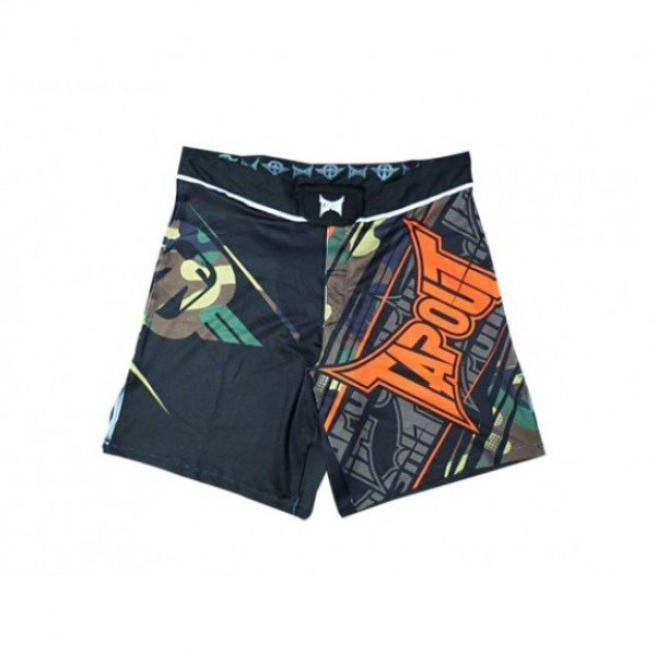 Шорты ММА TapouT 4 Way Stretch Performance Fight Shorts Camo Tapout L