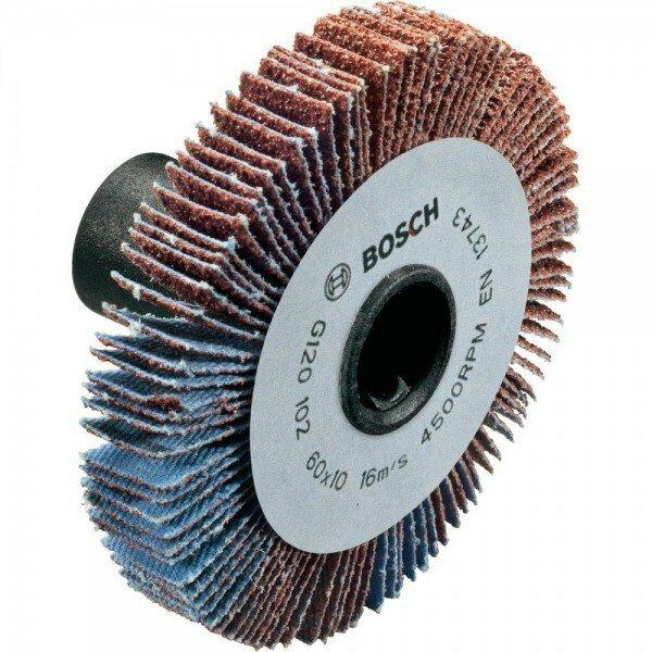 Ламельный шлифовальный валик 10 мм BOSCH LR 10 K120 (1600A0014Z)