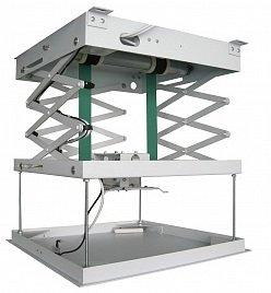 Лифт Wize PL120L с эл/приводом для проекторов макс весом 25 кг, расстояние от потолка 120 см, габариты 508х508х170 мм, белый