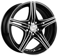 Диск RACING WHEELS H-464 6.5x15/5x105 D56.6 ET35 BK - фото 1