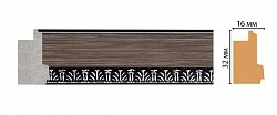 Декоративный багет для стен Декомастер Эклектика FM16-2