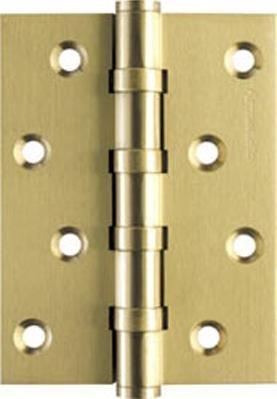 Петля дверная латунная универсальная Armadillo 500-C4 100x75x3 SG Матовое золото