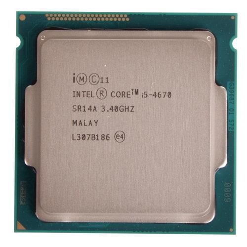 Процессор Intel Core i5-4670 Haswell (3400MHz, LGA1150, L3 6144Kb) OEM