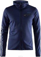 Куртка мужская Craft Eaze Jersey, цвет: темно-синий. 1906032/391000. Размер M (48)