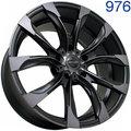 Колесный диск Sakura Wheels 9534 10.0x22/5x150 D110.5 ET0 B4BW/M - фото 1