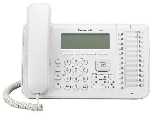 Системный телефон Panasonic KX-DT546RU для KX-TDA/TDE/NCP (белый)