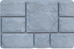 Фасадная панель (цокольный сайдинг) Grand Line Екатерининский камень Графит