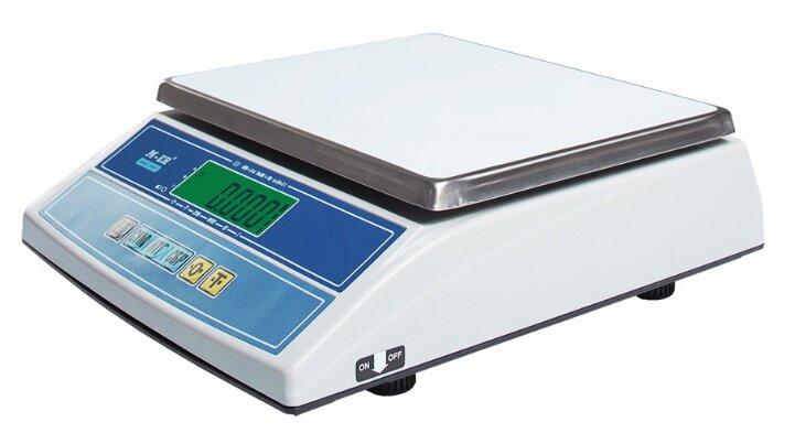 Весы настольные Mercury M-ER 326AFL-6.1 LCD Cube, без стойки, USB-COM