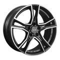 Диски OZ Racing Adrenalina 8x17 5x114,3 ET45 ЦО75.0 цвет MATT BLACK DIAMOND CUT - фото 1