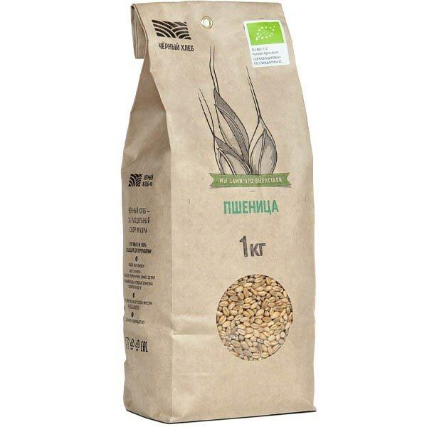 Чёрный хлеб Пшеница БИО 1 кг