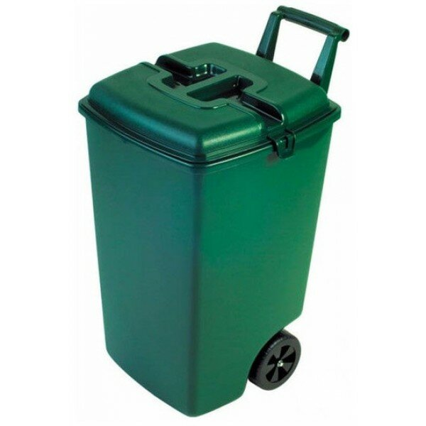 KETER Мусорный контейнер на колёсах OUTDOOR BIN, 90 л, зеленый