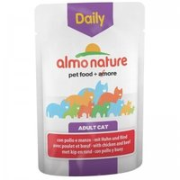 Almo Nature Daily Adult Cat Chicken and Beef 70г х 30шт