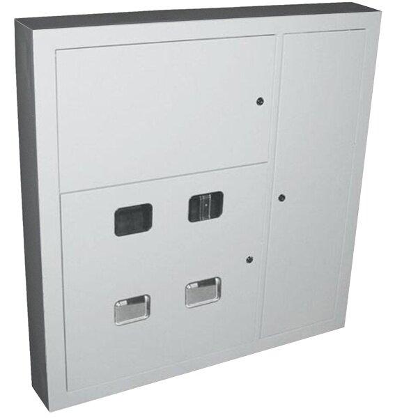 Щит металлический этажный ЩЭ-4-1 36 УХЛ3 IP31, на 4 квартиры встраиваемый 1000х960х160 ИЭК (MKM42-04-31)