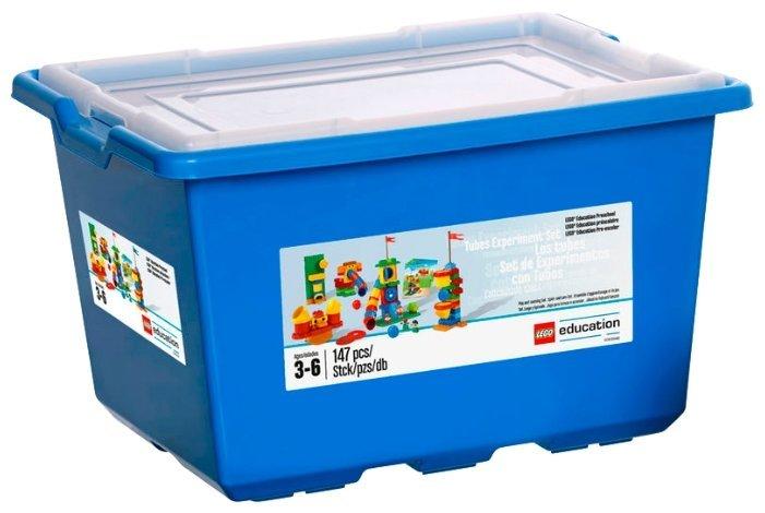 Динамический конструктор LEGO Education PreSchool 9076 Набор с трубами DUPLO