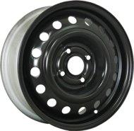 Диски R15 4x100 5,5J ET45 D54,1 Trebl X40039 Black - фото 1