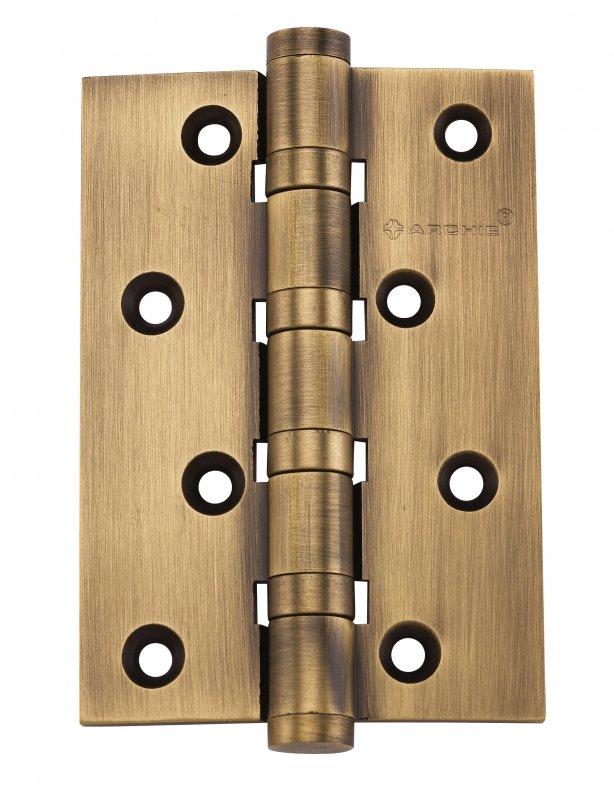 Петля дверная универсальная ARCHIE A010-C 100X70X3-4BB-1ACF, ант. кофе, 4 ш/подшипника, 1шт