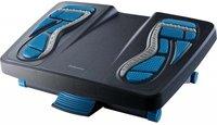 Массажная подставка для ног FELLOWES Energizer, черный/синий, пластик