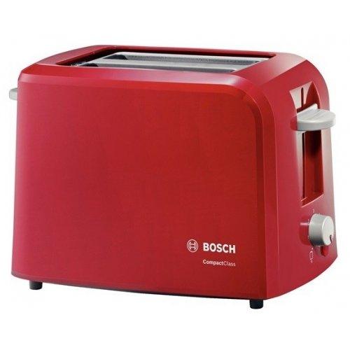 Тостер Bosch TAT3A014 красный