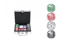 Набор для покера 100 фишек (11,5ГР.), с номиналом