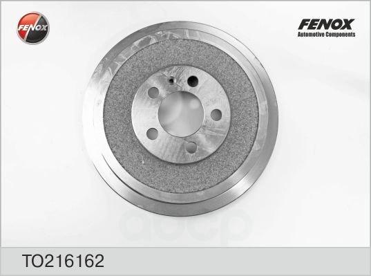 Барабан тормозной skoda octavia 96-04, vw polo sedan 2010- to216162 FENOX арт. TO216162